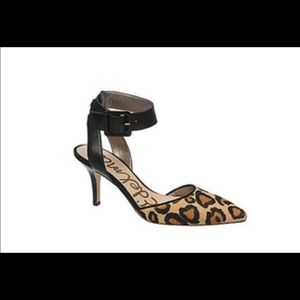 Sam Edelman Okala Leopard Ankle Strap